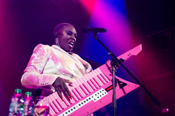 GBR: Laura Mvula Performs At Islington Assembly Hall, London