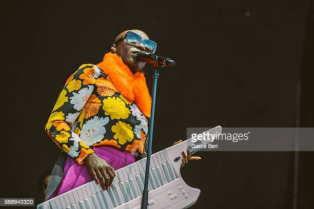 Laura Mvula performs live at Flow Festival on August 12 2016 in Helsinki Finland