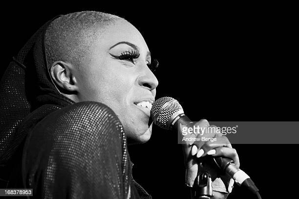Laura Mvula performs on stage as part of Live At Leeds Festival on May 4 2013 in Leeds England