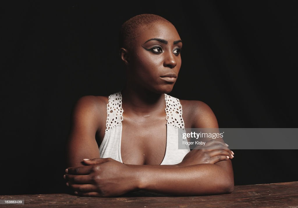Laura Mvula poses for a portrait backstage at The Fader Fort presented by Converse during SXSW on March 16, 2013 in Austin, Texas.
