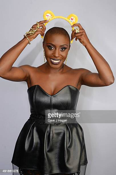 Laura Mvula supports BBC Children in Need at One Big Night at SSE Arena Wembley on October 8 2015 in London England