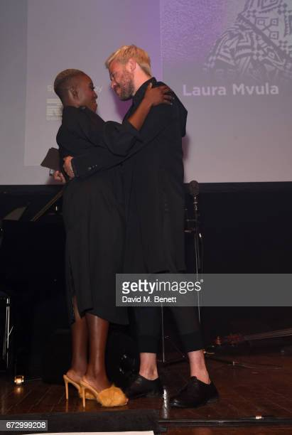 Laura Mvula Will Young attend the Jazz FM Awards 2017 at Shoreditch Town Hall on April 25 2017 in London England