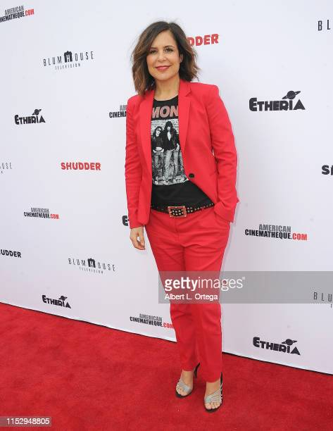 Laura Niemi attends the 6th Annual Etheria Film Showcase held at American Cinematheque's Egyptian Theatre on June 29 2019 in Hollywood California
