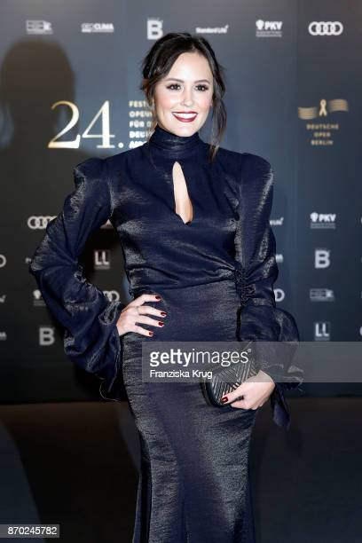 Laura Noltemeyer attends the 24th Opera Gala at Deutsche Oper Berlin on November 4 2017 in Berlin Germany