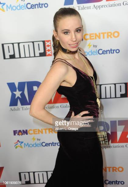 Laura Nova arrives for XBIZ Rise Adult Talent Appreciation Gala held at Exchange LA on November 14 2018 in Los Angeles California