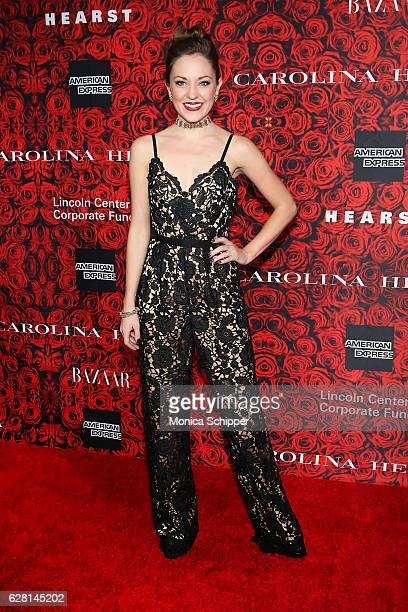 Laura Osnes attends An Evening Honoring Carolina Herrera at Alice Tully Hall at Lincoln Center on December 6 2016 in New York City