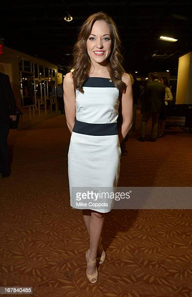 Laura Osnes attends the 2013 Tony Awards Meet The Nominees Press Reception on May 1 2013 in New York City
