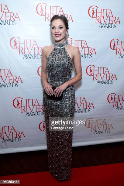 Laura Osnes attends the 2018 Chita Rivera Awards at NYU Skirball Center on May 20 2018 in New York City