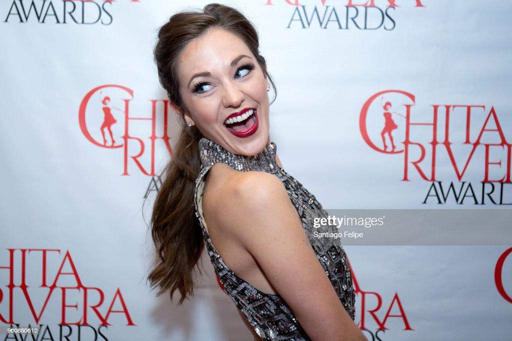 Laura Osnes attends the 2018 Chita Rivera Awards at NYU Skirball Center on May 20, 2018 in New York City.