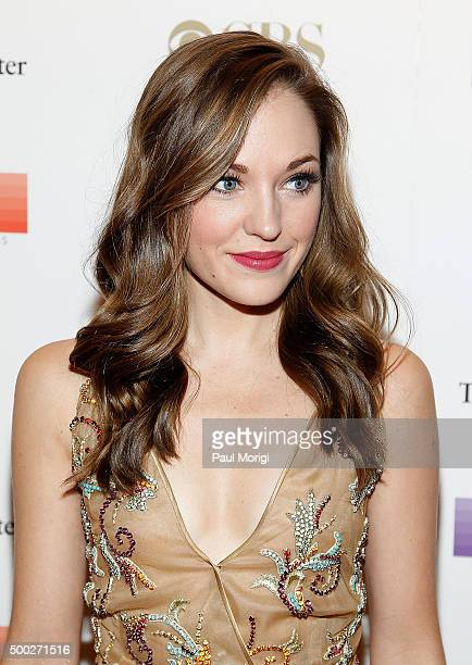 Laura Osnes attends the 38th Annual Kennedy Center Honors Gala at John F Kennedy Center for the Performing Arts on December 6 2015 in Washington DC