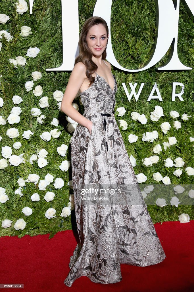Laura Osnes attends the 71st Annual Tony Awards at Radio City Music Hall on June 11, 2017 in New York City.