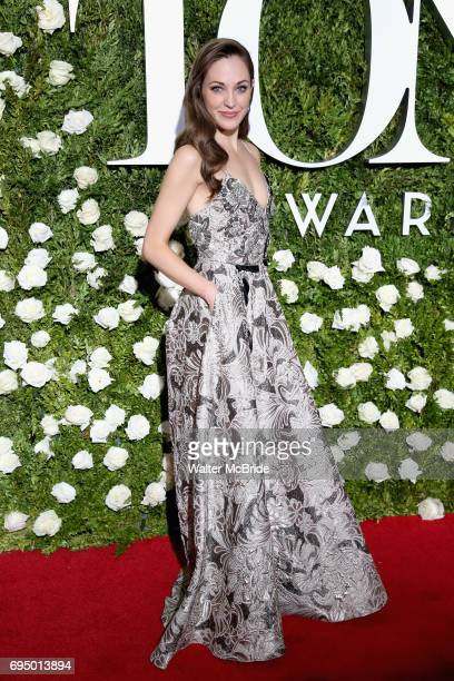 Laura Osnes attends the 71st Annual Tony Awards at Radio City Music Hall on June 11 2017 in New York City