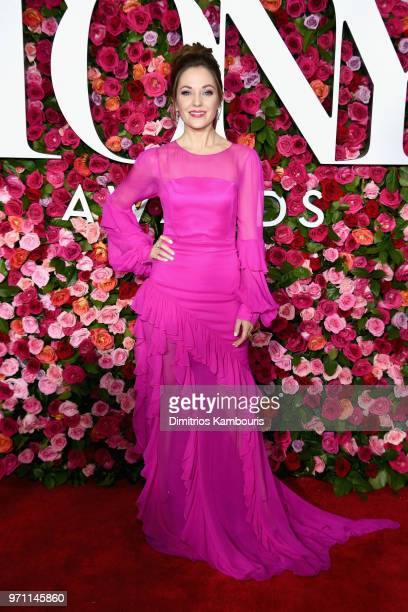 Laura Osnes attends the 72nd Annual Tony Awards at Radio City Music Hall on June 10 2018 in New York City