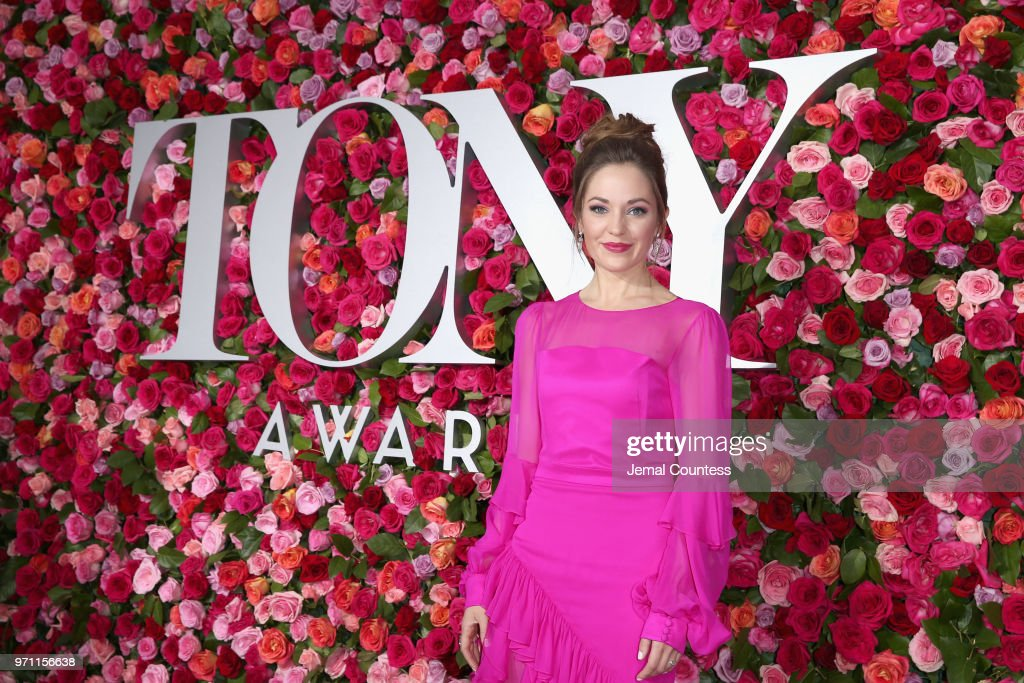 Laura Osnes attends the 72nd Annual Tony Awards at Radio City Music Hall on June 10, 2018 in New York City.