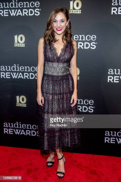 Laura Osnes attends the Broadway Loyalty Program Audience Rewards 10th Anniversary celebration at Sony Hall on September 24 2018 in New York City