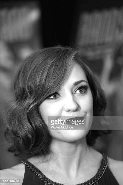 Laura Osnes attends the Broadway Opening Night After Party of 'Bandstand' at the Edison Ballroom on 4/26/2017 in New York City