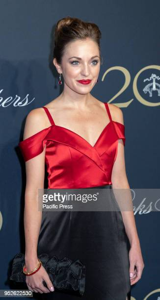 Laura Osnes attends the Brooks Brothers Bicentennial Celebration at Jazz At Lincoln Center Manhattan