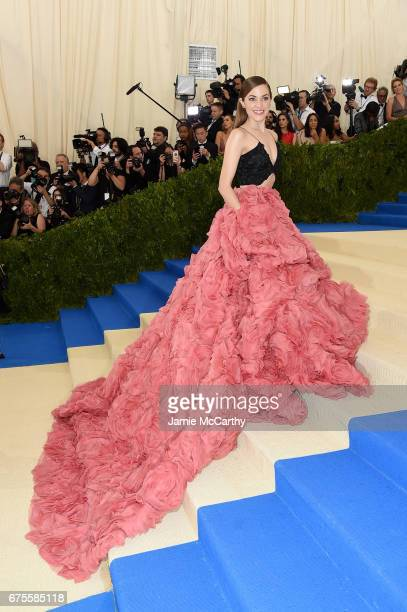 Laura Osnes attends the Rei Kawakubo/Comme des Garcons Art Of The InBetween Costume Institute Gala at Metropolitan Museum of Art on May 1 2017 in New...