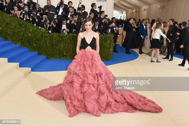 Laura Osnes attends the 'Rei Kawakubo/Comme des Garcons Art Of The InBetween' Costume Institute Gala at Metropolitan Museum of Art on May 1 2017 in...