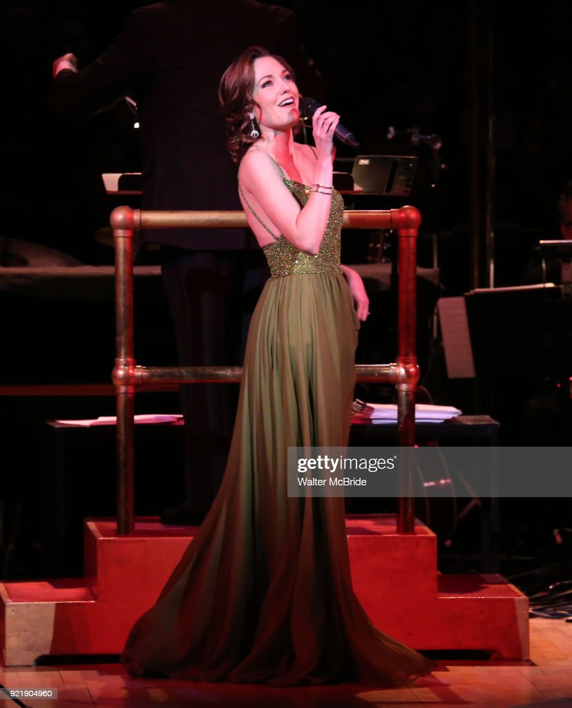 Laura Osnes during the Manhattan Concert Productions Broadway Classics in Concert at Carnegie Hall on February 20, 2018 at Carnegie Hall in New York City.