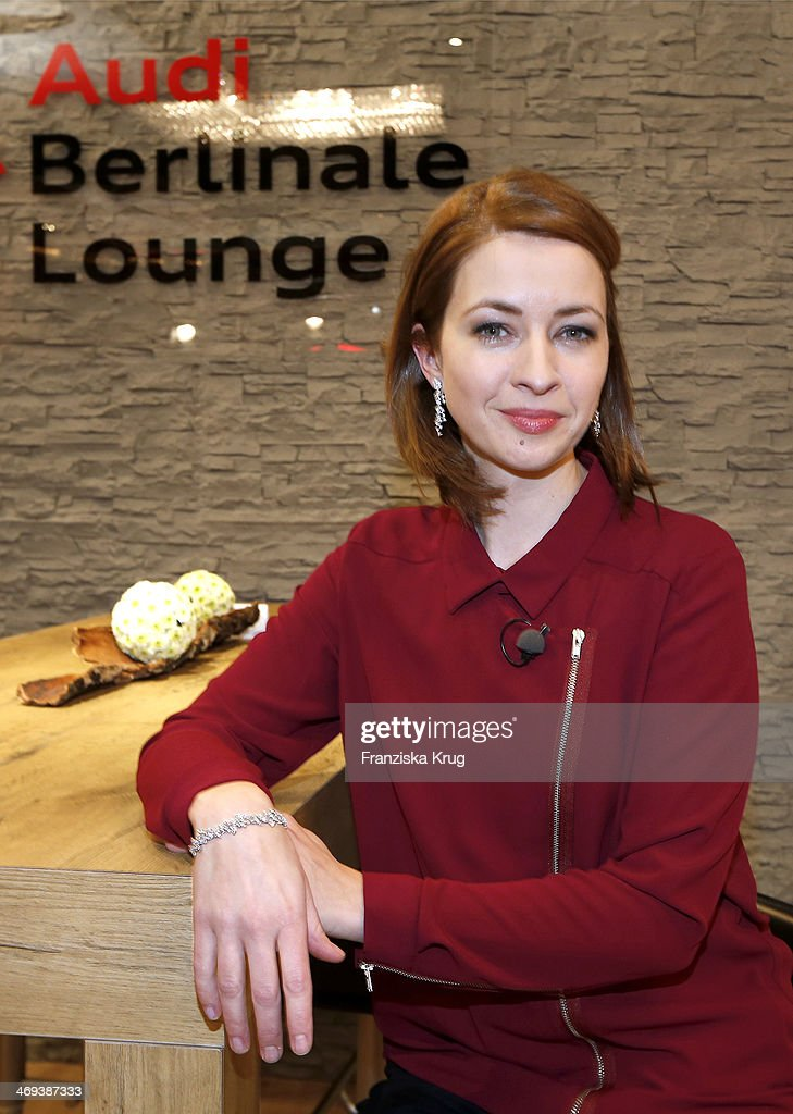 Laura Osswald attends the Audi Lounge Day 9 - Audi At The 64th Berlinale International Film Festival at Berlinale Palast on February 14, 2014 in Berlin, Germany.