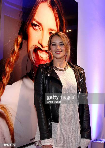 Laura Osswald attends the opening of the 'Niels Ruf Art Exhibition' at Camera Works on May 29, 2013 in Berlin, Germany.