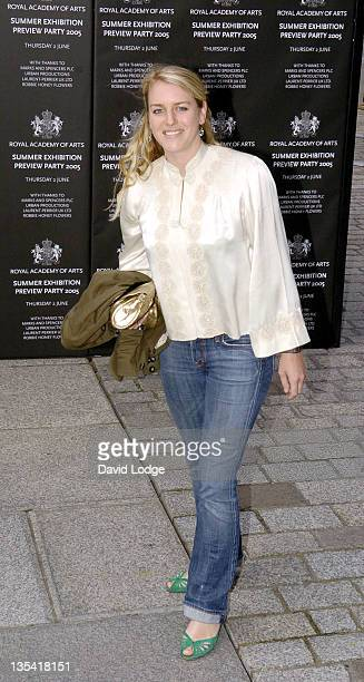 Laura ParkerBowles during Royal Academy Summer Exhibition 2005 Preview Party Arrivals at Royal Academy Of Arts in London Great Britain