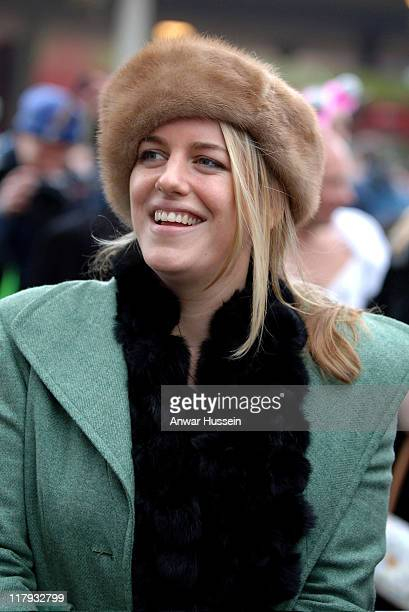 Laura Parler-Bowles attends Gold Cup Day at Cheltenham Races on March 17, 2006.