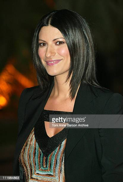 Laura Pausini during 2003 Monte Carlo World Music Awards Arrivals at Monte Carlo Sporting Club in Monte Carlo Monaco