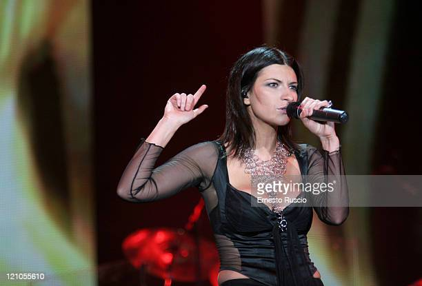 Laura Pausini during Laura Pausini Resta in Ascolto Tour at Fiesta in Rome July 5 2005 at Fiesta in Rome Italy