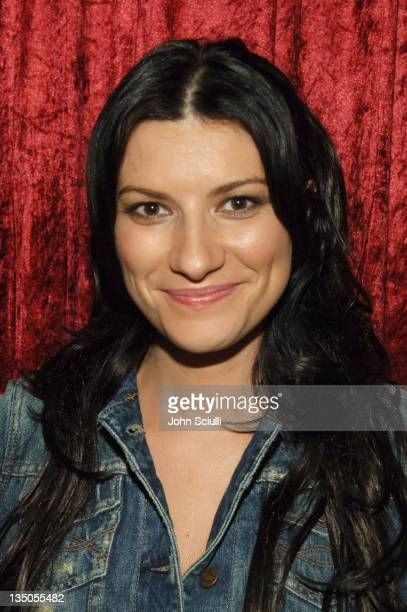 Laura Pausini during The 6th Annual Latin GRAMMY Awards Radio Room Day One at Shrine Auditorium in Los Angeles California United States