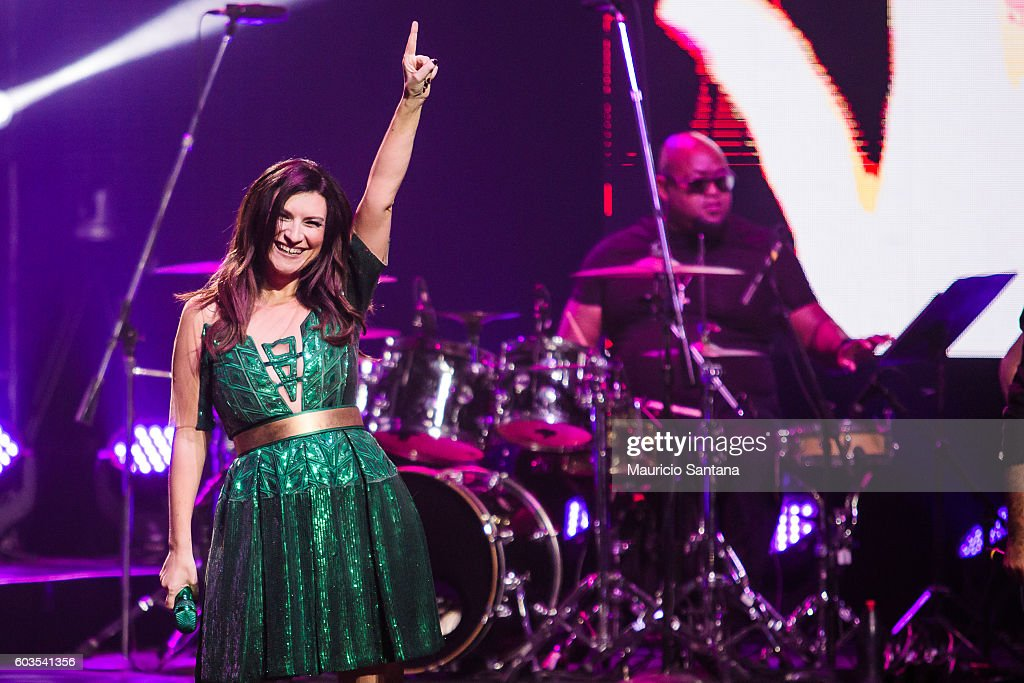 Laura Pausini Simili US and Latam Tour 2016 in Sao Paulo