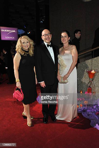 Laura Peck David C Jacobson US Ambassador to Canada Julie Jacobson attend Canada's National Arts Centre Presents One Enchanted Evening With Sarah...