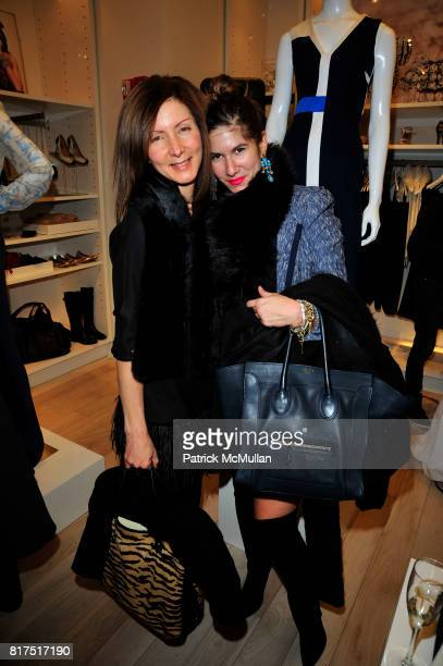 Laura Pellegrini and Isa Tapia attend Ann Taylor Flatiron Store Opening at Ann Taylor NYC on December 2 2010 in New York City
