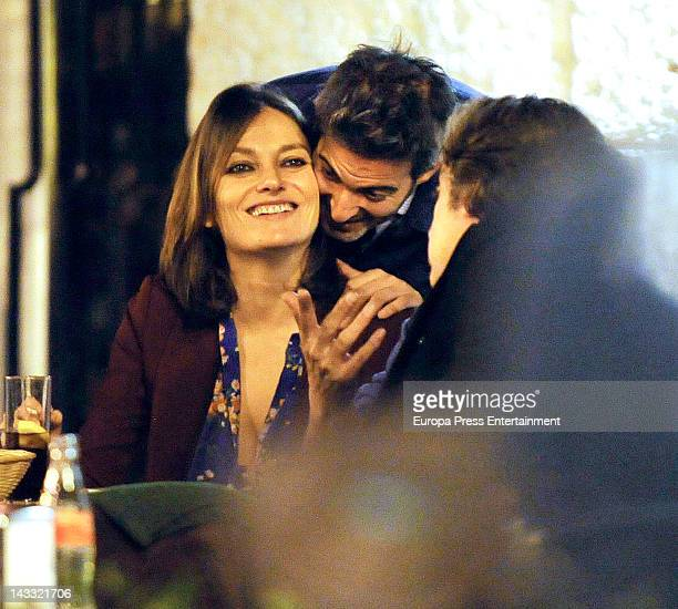 Laura Ponte and Beltran Cavero are seen on March 15 2012 in Madrid Spain