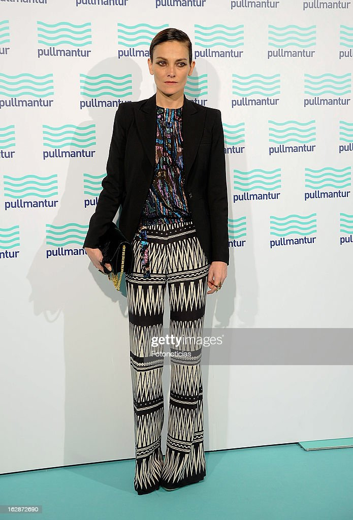 Laura Ponte attends the Blue Night by Pullmantur at Neptuno Palace on February 28, 2013 in Madrid, Spain.