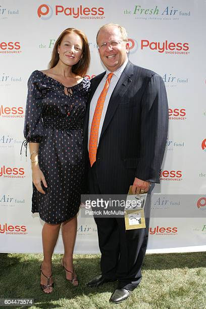 Laura Poretzky and Matt Rubel attend Payless ShoeSource and The Fresh Air Fund Celebrate the Launch of the New Payless Fashion Lab at Payless...