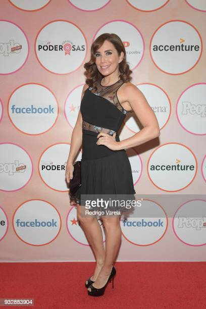 Laura Posada arrives at the People en Espanol's 25 Most Powerful Women Luncheon 2018 on March 16 2018 in Miami Florida