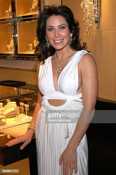 Laura Posada attends JUDITH RIPKA Hosts Event to Benefit the JORGE POSADA FOUNDATION at Judith Ripka Flagship Store on August 16 2007 in New York City