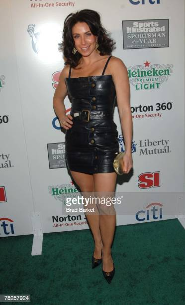 Laura Posada attends the Sports Illustrated Sportsman of The Year Party 2007 at Skylight Studios December 4, 2007 in New York City.
