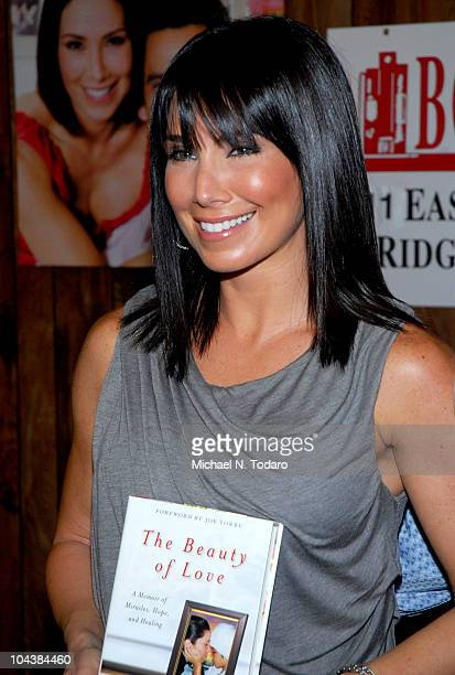 """Laura Posada promotes """"The Beauty of Love"""" at Bookends Bookstore on September 23, 2010 in Ridgewood, New Jersey."""