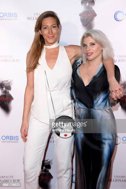 Laura Pradelska and Pips Taylor attend the Snowbound Movie Event celebrating the screening of 'Snowbound' at the 70th Cannes Film Festival on May 20...
