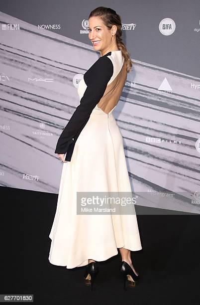 Laura Pradelska attends at The British Independent Film Awards Old Billingsgate Market on December 4 2016 in London England