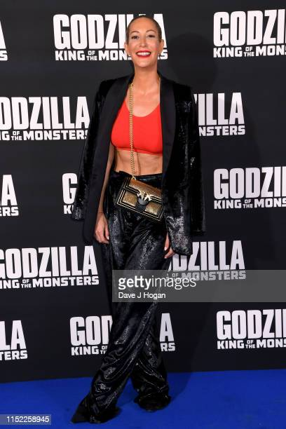 Laura Pradelska attends GODZILLA II King of the Monsters at Cineworld Leicester Square on May 28 2019 in London England