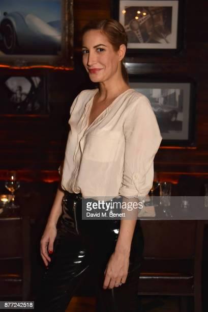 Laura Pradelska attends Mason Smillie's birthday party at McQueen on November 21 2017 in London England