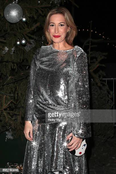 Laura Pradelska attends Notion Magazine Issue 78 launch party at Ninety One on December 19 2017 in London England