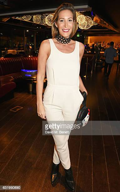 Laura Pradelska attends The Fall Magazine launch party in the Rumpus Room at Mondrian London on January 18 2017 in London England