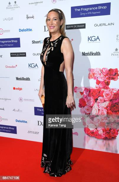 Laura Pradelska attends the Fragrance Foundation Awards at The Brewery on May 18 2017 in London England