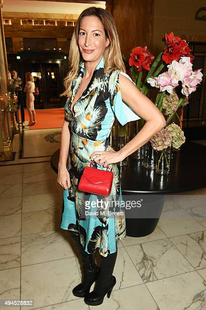 Laura Pradelska attends the launch of the Cointreau Creative Crew a worldwide programme to champion creative women hosted by Cointreau's creative...