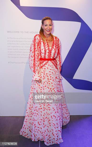 Laura Pradelska attends the launch of The House Of Peroni on February 26 2019 in London England